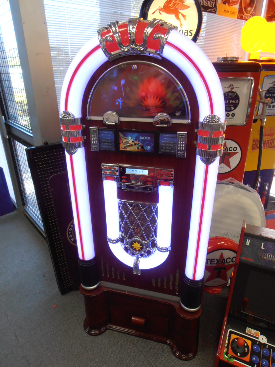 Mr Pinball - Large Full Sized 5 Foot Wurlitzer Style Jukebox Plays