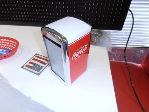 Coke Commercial Grade USA BRAND Napkin Dispenser CC342