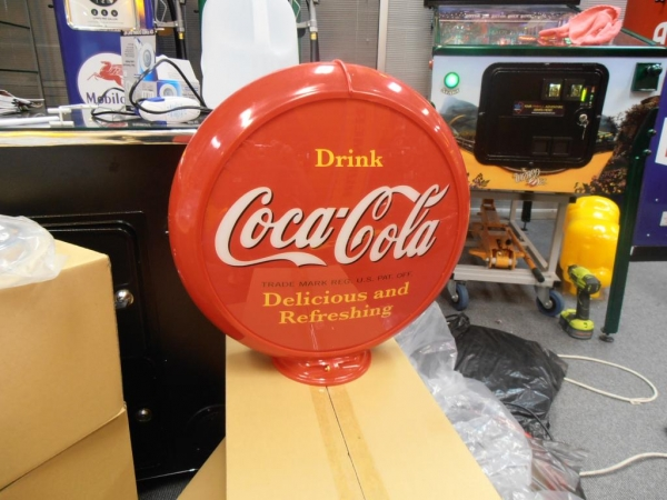 Coca Cola Double Sided Globe