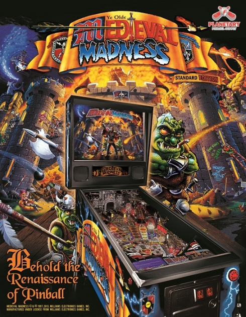 Medieval Madness Pinball Machine Final Order