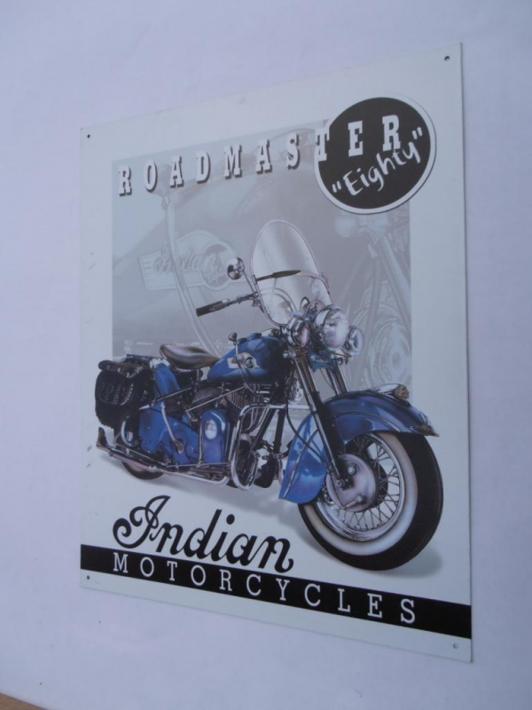 Indian Road Masters Retro Sign