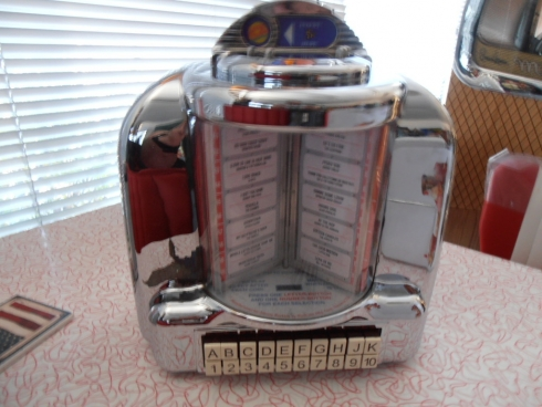 Rockola Diner Wall Box Remote Jukebox Selector