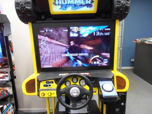 The Hummer Driving Simulator