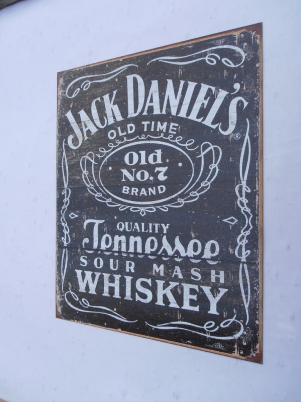 Jack Daniels Old No 7 Tin Sign