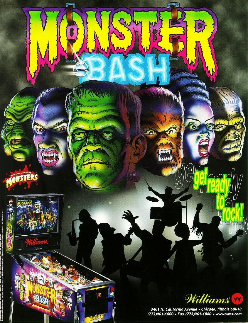 Mr Pinball Monster Bash Pinball Remake