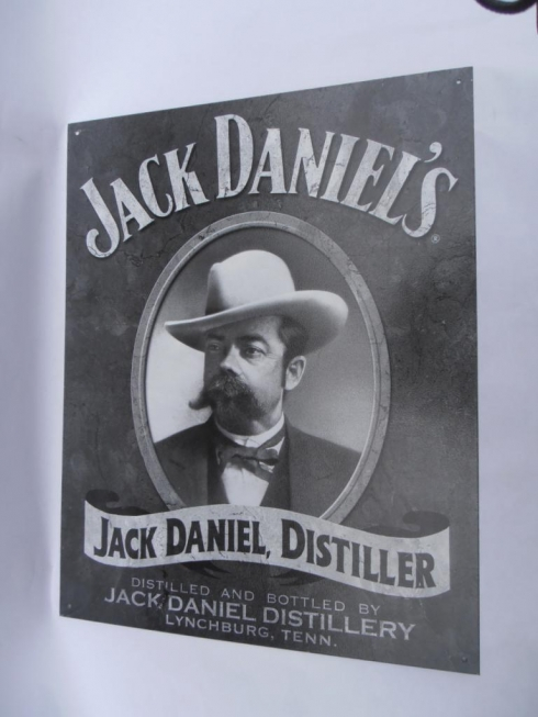Jack Daniels Distiller Advertising Sign
