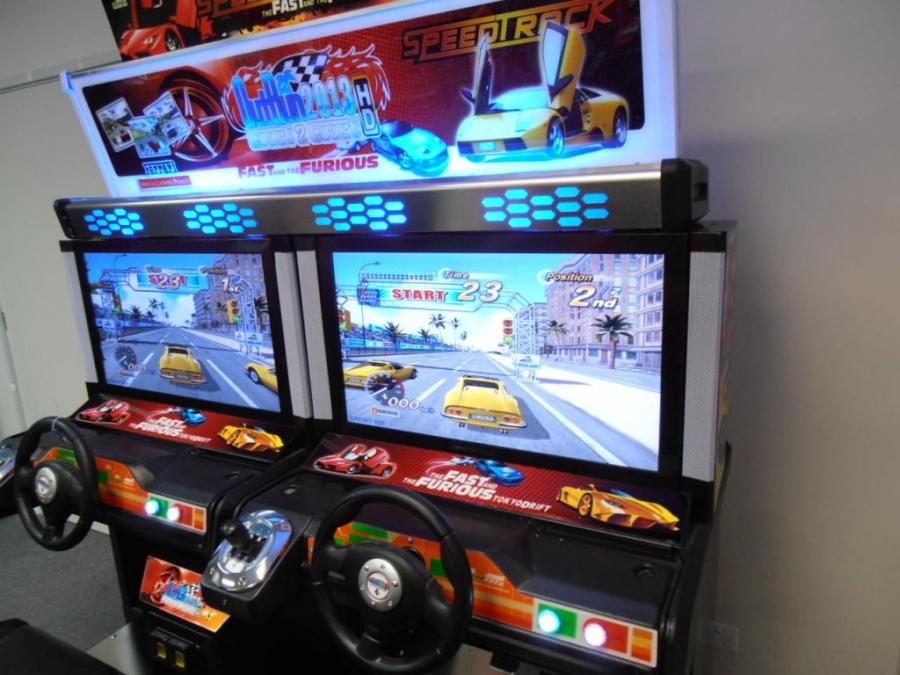 Mr Pinball Outrun 2 2013 Brand New Twin Driving Machine