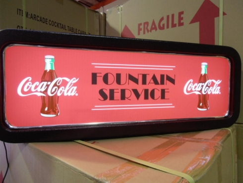 Coke Feature Light Box