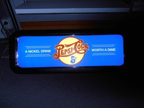 Pepsi Feature Light Up Box
